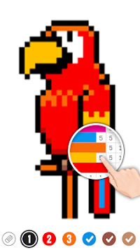 Color by Number: Pixel Art