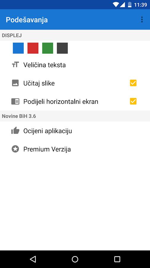 Novine BiH- screenshot