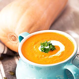 Easy Pumpkin Soup With Coconut Milk