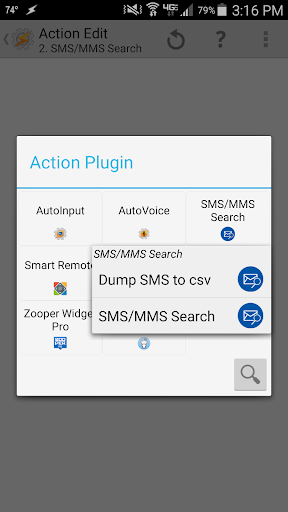 SMS MMS Search for Tasker