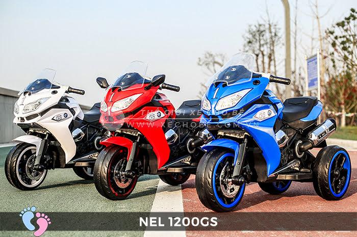 Moto điện 3 bánh cho bé NEL-1200GS 1