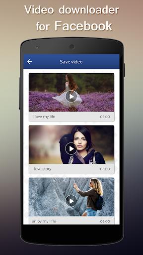 Video Downloader For Facebook 1.0 screenshots 3