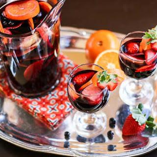 Red Wine Sangria Pomegranate Recipes