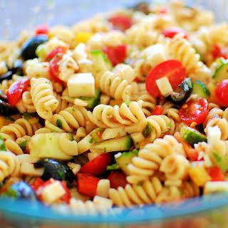 Cold Pasta Salad.