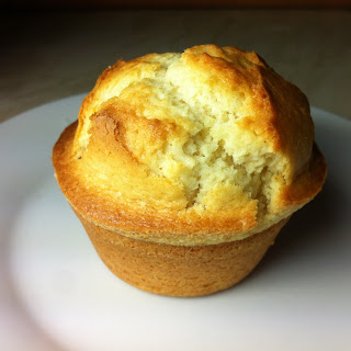 Vanilla High Top Muffins.