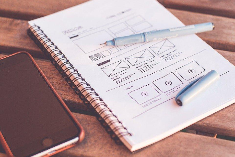 Plans, Design, Web Design, Designer, Desk, Document