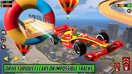 Formula Car Stunts 3D – Gt Racing: Mega ramp games  screenshots 1