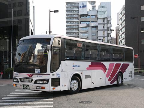 西鉄「フェニックス号」 6017 福岡天神にて