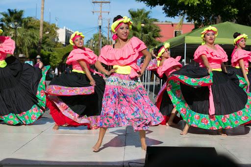 Venezuela.jpg - Dancers from Venezuela perform during the Loreto-organized portion of the JoCo music fest.