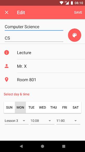 Timetable  screenshots 6