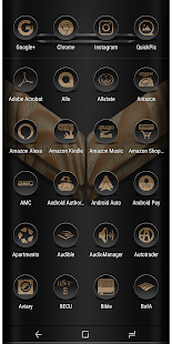 Daf Black Wood Icon Pack - náhled