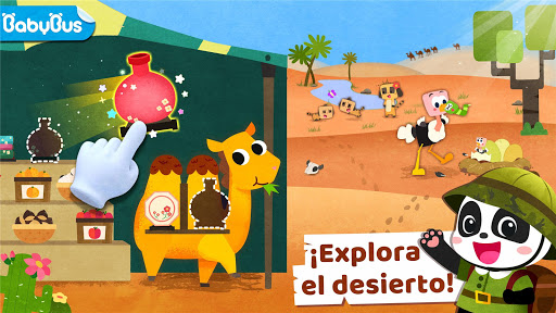 Mundo de Animales del Pequeño Panda screenshot 1