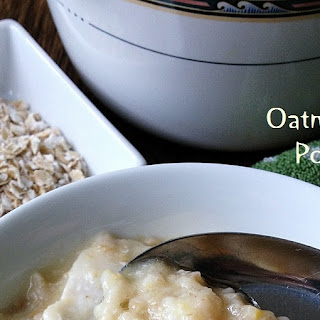 Oatmeal Fish Porridge.