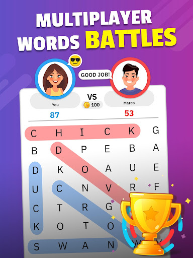 Word Search Blast - Word Search Games 1.2.2 screenshots 14
