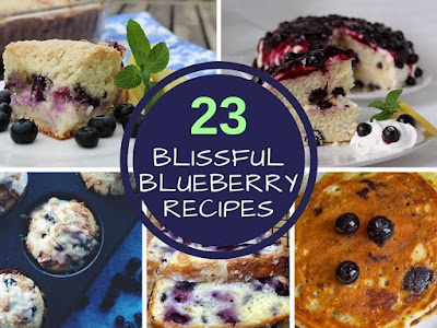23 Blissful Blueberry Recipes