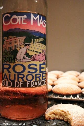 Lemon Cookies & A French Rosé