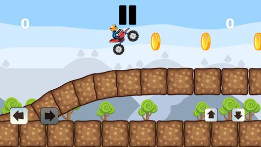 Crazy Biker 2D