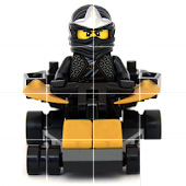 Sliding Puzzle Lego Ninjago