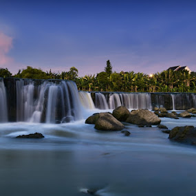 by Mac Evanz - Landscapes Waterscapes ( curug perigi )