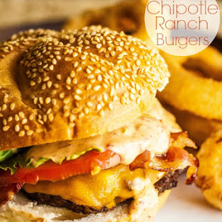 Grilled Chipotle Ranch Burgers.