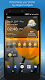 screenshot of Weather & Clock Widget for Android