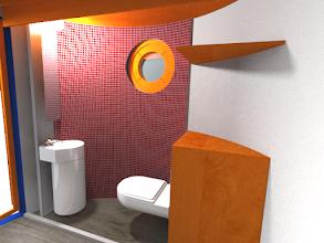 Photo: Veloform Media bboxx Hoteltower: optional mit WC/Dusche im Erdgeschoss
