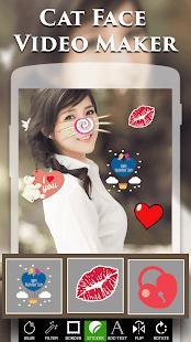 Cat Face Video Maker - náhled