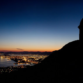Split by Antonio Rossetti - Landscapes Starscapes ( bell, split, chapel, panorama )
