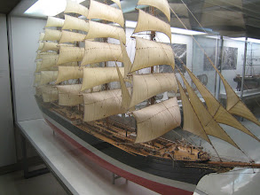 Photo: Deutsches Museum exhibits: model ships