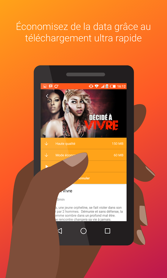 IROKO+, vos films sur mobile- screenshot
