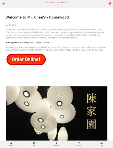 Mr. Chen's -  Homewood Online Ordering  screenshots 4