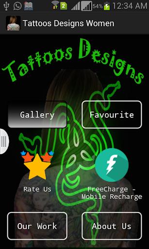 Latest Tattoos Designs Women