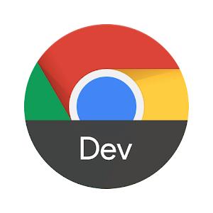 Chrome Dev 85.0.4183.38 by Google LLC logo