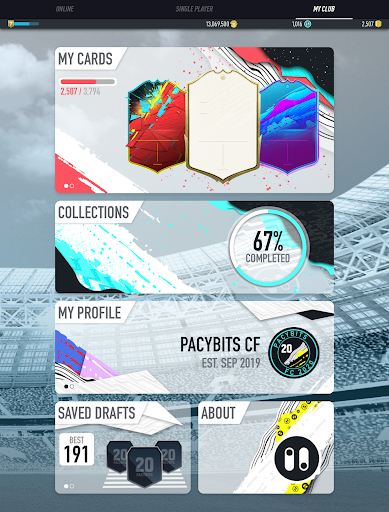 PACYBITS FUT 20 screenshot 11