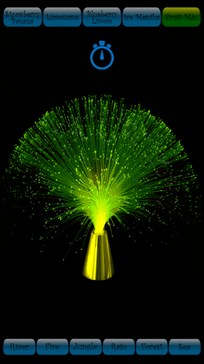 lâmpada de fibra óptica screenshot