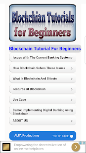 Blockchain Tutorials for Beginners - náhled