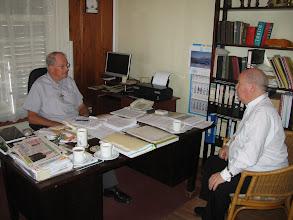 Photo: Het kantoor van Mgr. De Bekker