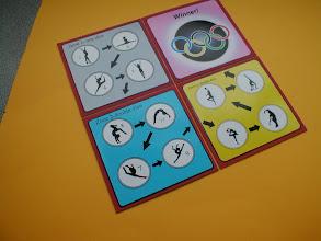 Photo: Gymzone game board