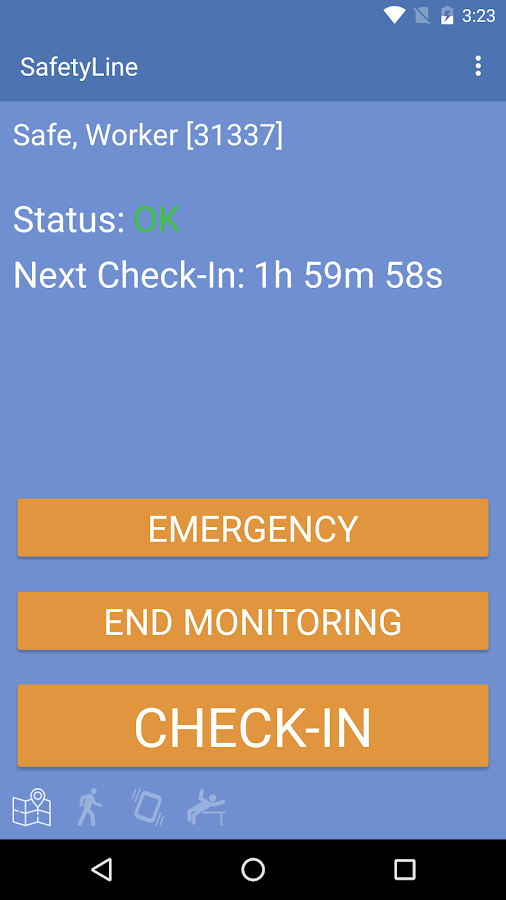 SafetyLine- screenshot