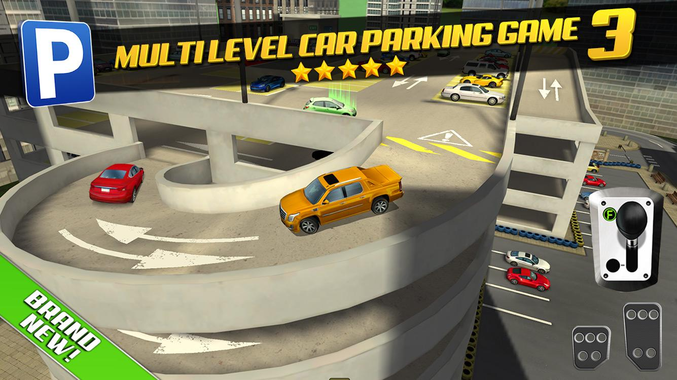 Play Luxury Car Parking Games