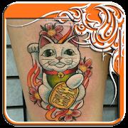 القط الوشم تصاميم APK