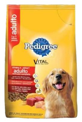 alimento para mascotas pedigree adulto nutricion completa etapa 3 1kg