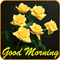 Good morning Images Gifs, Flowers Roses wallpapers icon