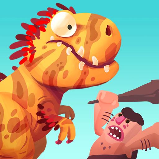 Dino Bash - Dinos v Cavemen (game)