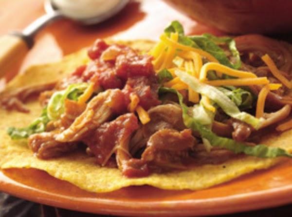 Chicken Tostadas Recipe