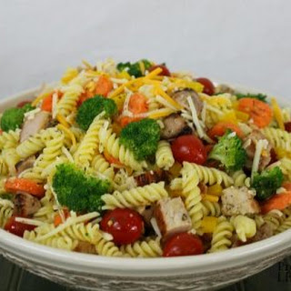 Italian Pasta Salad with Grilled Pork