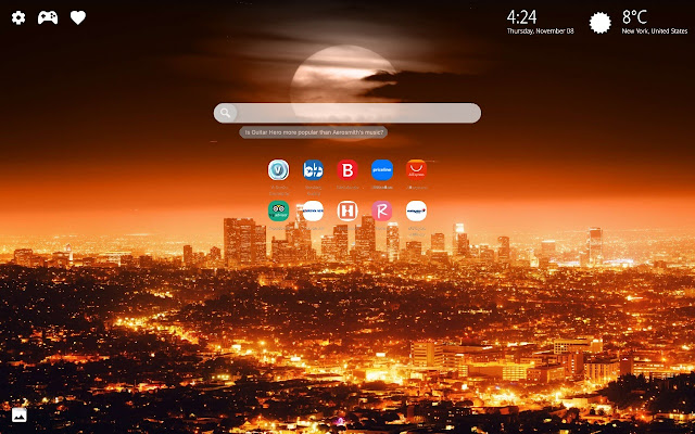 Los Angeles Wallpaper HD Chrome Theme