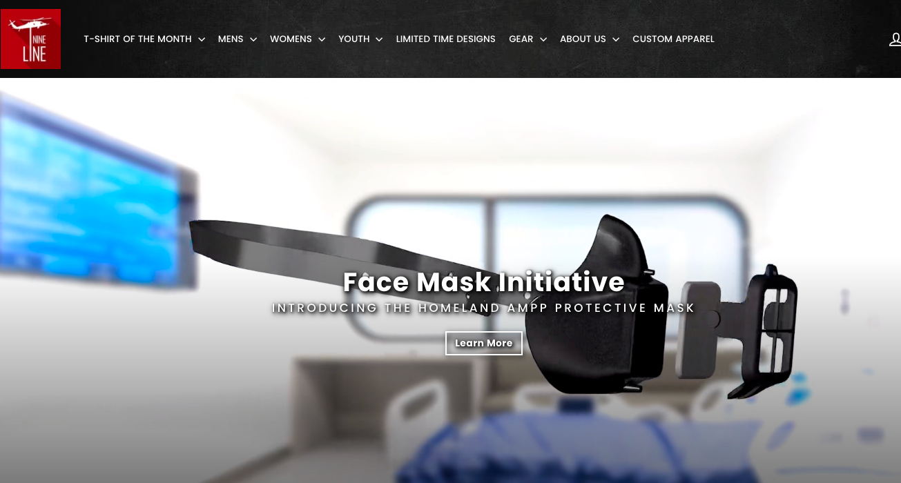 face mask initiative for shopify stores