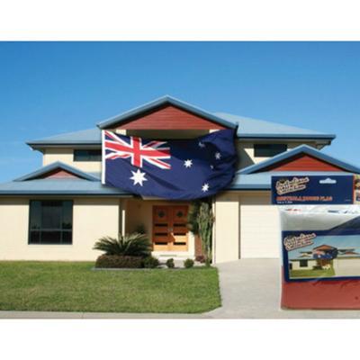 Discount Party Supplies Australia Day - Australian House Flag - 3m x 1.5m