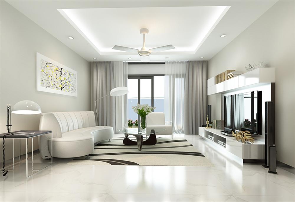 Thiết kế nội thất phòng khách cho căn hộ 3PN